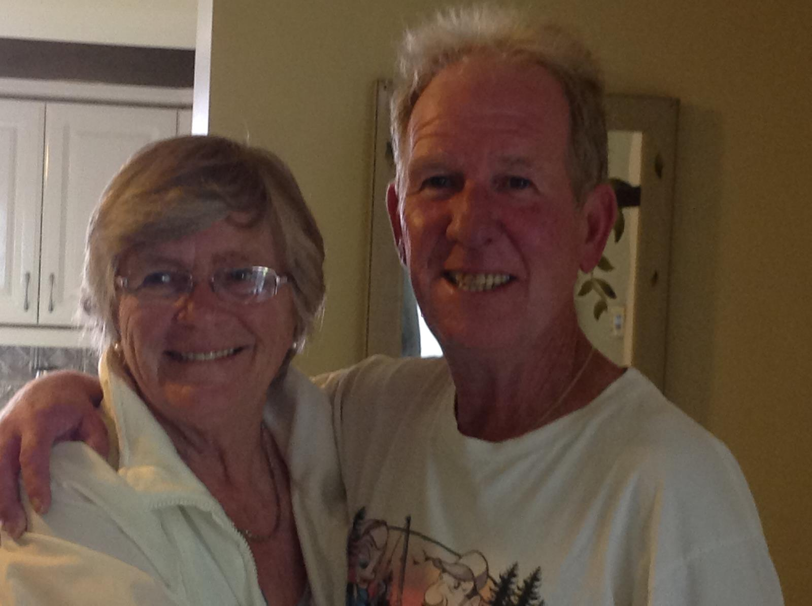 Image of Bonnie Devine and Dave French - Owners of Cheminis Lodge